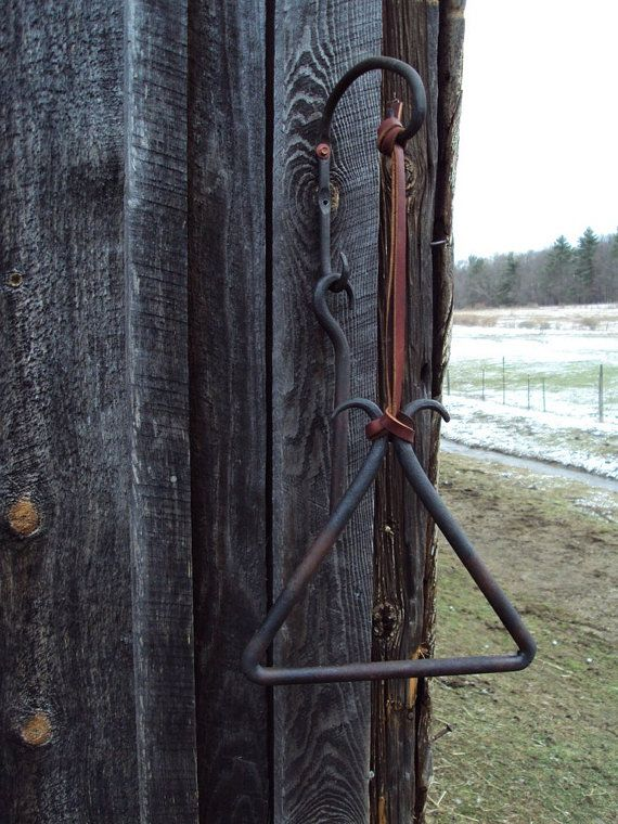 Hand Forged Cowboy Style Triangle Dinner Bell