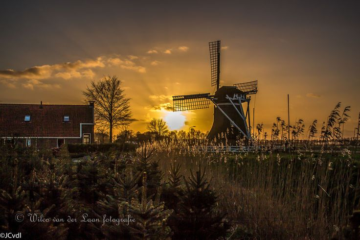 Watermill by Wilco van der Laan Fotografie on 500px