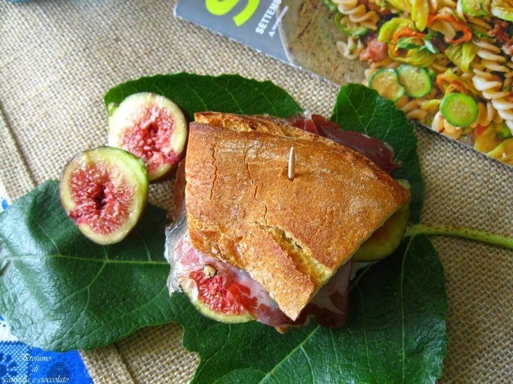 Panino d'autunno… Fichi, gorgonzola, coppa