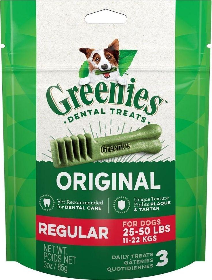 PetFlow Greenies Regular Original Dental Dog Chews