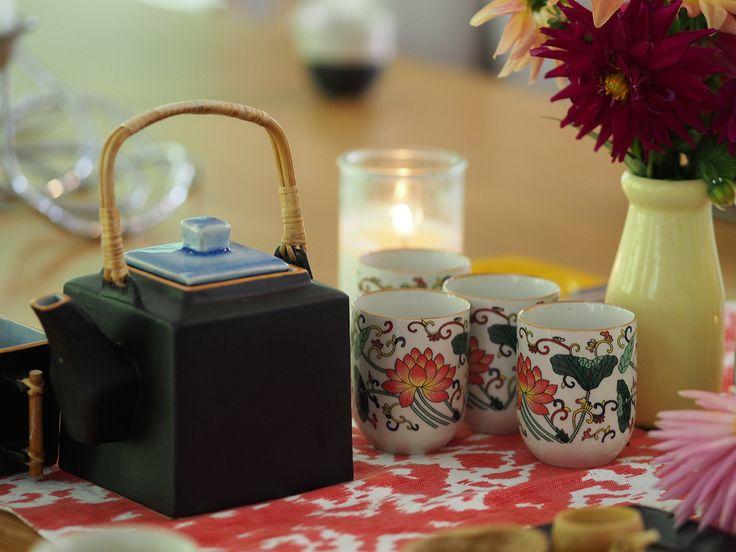 Moringa tea at OM Cleanse retreat Byron Bay Australia