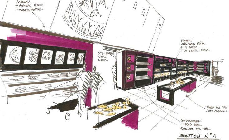 service avant projet Someva, menuisier agenceur et agencement de magasin