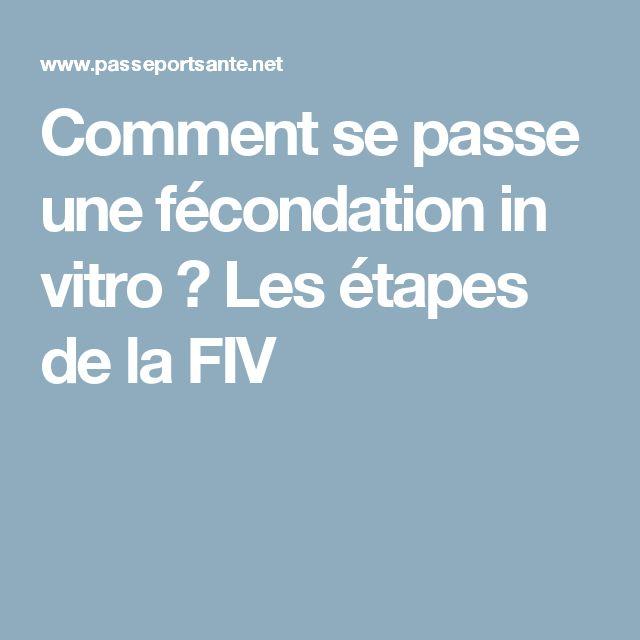 Comment se passe une fécondation in vitro ? Les étapes de la FIV