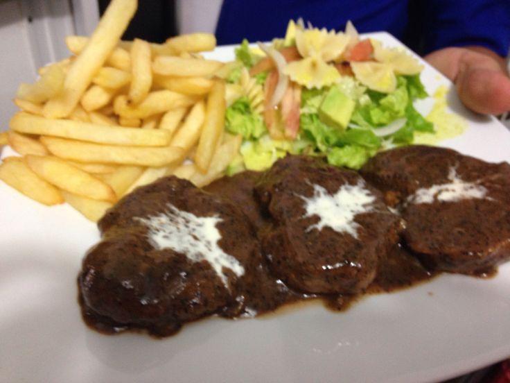 Lomosillos al steak pimienta !!
