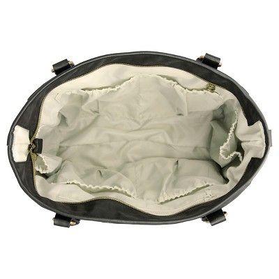 timi & leslie Tag-A-Long Tote Diaper Bag - Soho Black