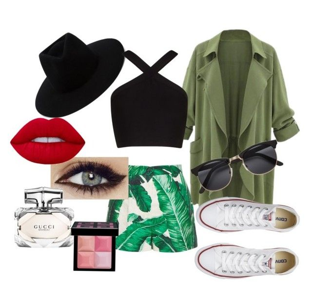 """""""My little sisters designe"""" by gde-2001 on Polyvore featuring mode, Dolce&Gabbana, rag & bone, Converse, BCBGMAXAZRIA, Lime Crime, Gucci en Givenchy"""