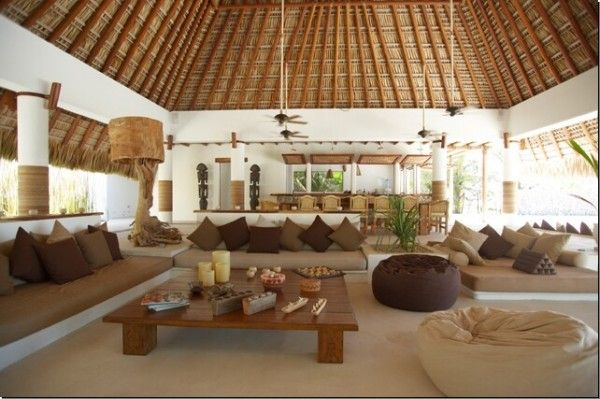 tropical thatched roof - Google Search