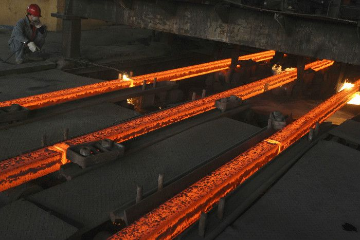 Australia's steel industry has faltered in recent years, with product imported from China often used over domestic stock.