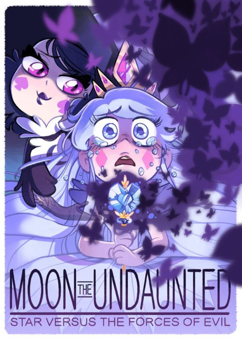 """arythusa: """" I boarded on two episodes of The Battle for Mewni, which airs July 15th!! Here's a li'l poster for the first one. The Battle for Mewni Part II: Moon the Undaunted """""""
