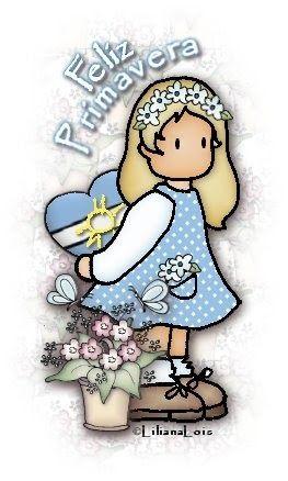 Comienza la primavera en el cono sur Feliz Primavera a todos !!! Feliz Primavera Argentina !!!  les dejo aqui los links a todas las tarjetit...