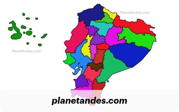 Provinces Of Ecuador Ecuador Map Ecuador Ecuador Travel