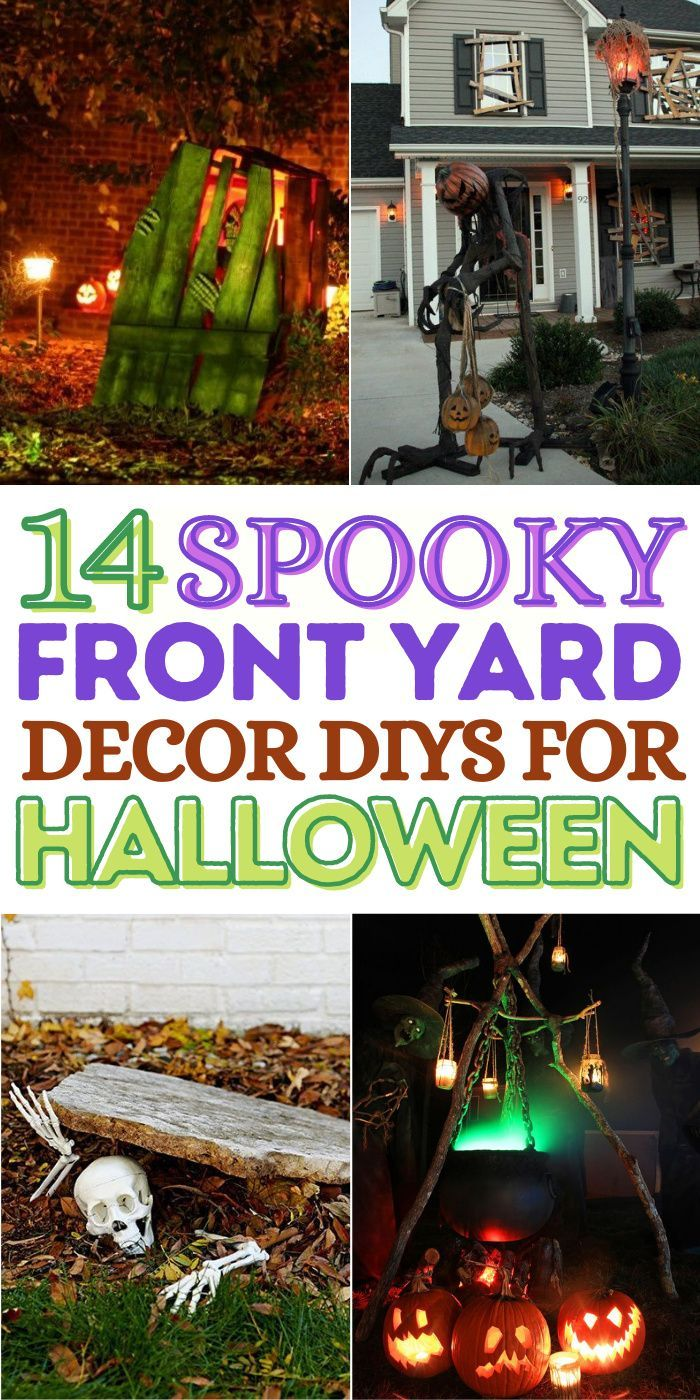 28++ Front yard diy outdoor halloween decorations inspirations