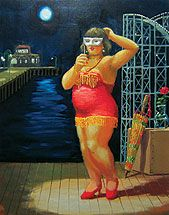 Mark Ogge works in stock: Carnivals, circus tents and fairgrounds