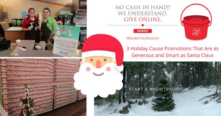 """December 22, 2016: """"3 Holiday Cause Promotions That Are as Generous and Smart as Santa Claus"""" [For Momentum]"""