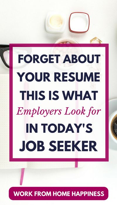 Are you looking to #workfromhome? Quit focusing all your efforts on your resume! Your resume alone won't help you land a #workathome job. Instead, today's employers are looking for this in job seekers. Learn how you can strengthen your #personalbrand and get your dream remote job.