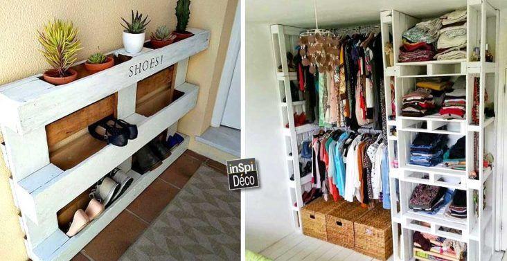 25 beste idee n over dressing fait maison op pinterest. Black Bedroom Furniture Sets. Home Design Ideas