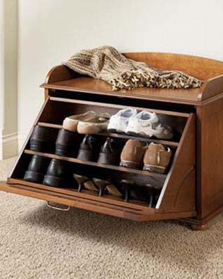 This Is A Neat Idea To Put By Your Front Door For You Or Guest Their Shoes In Saves Room And Gives The House Nice
