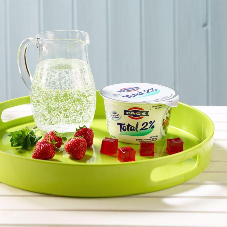 "FAGE Total Yoghurt - Strawberry Jelly ""Ice Cream"""