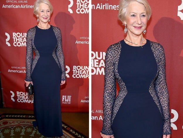 Helen Mirren's stunning timeless style : Woman's Day