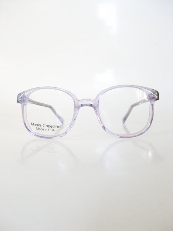 1980s Kids Pastel Purple Eyeglasses Childrens Eyeglasses Optical ...