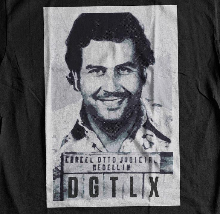 Pablo Escobar Narcos Inspired T-Shirt – Digital Threads