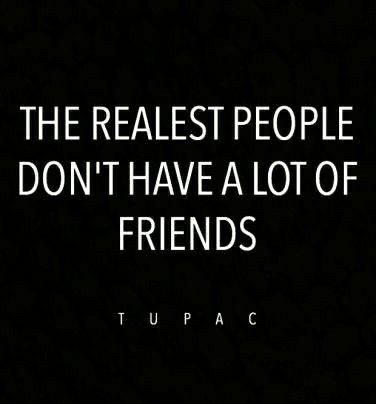 Amen!!! It's because people don't want to be around real people!! They would rather have somebody faker than an $8 bill brag and make over them. Not me..not now, not ever!!! I am real!