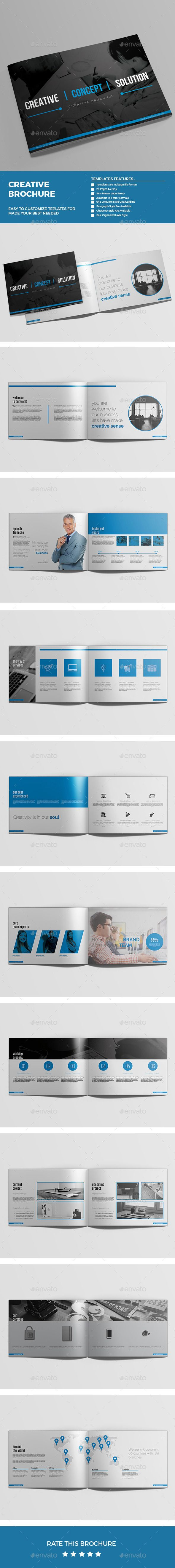 Brochure Template #brochure #design Download: http://graphicriver.net/item/brochure/12584002?ref=ksioks
