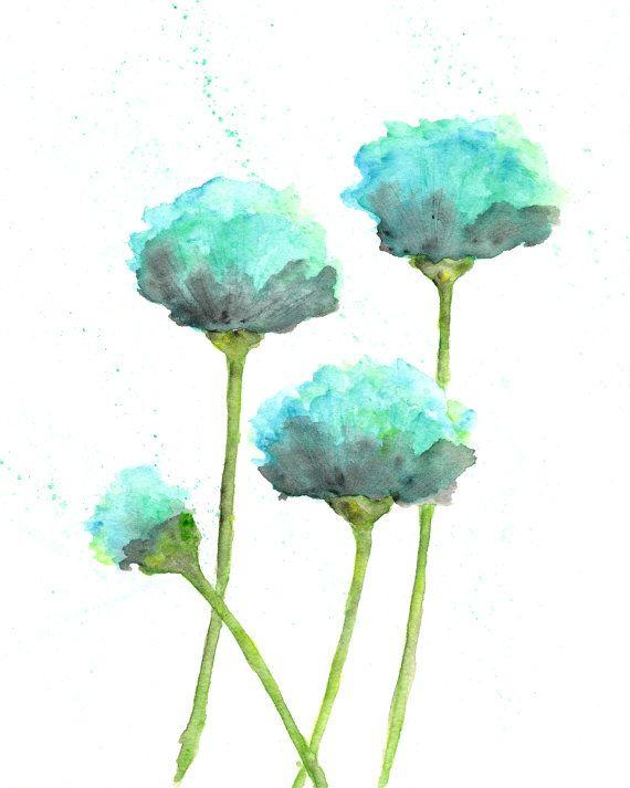 Las 25 mejores ideas sobre flores verde menta en for Pintura verde agua