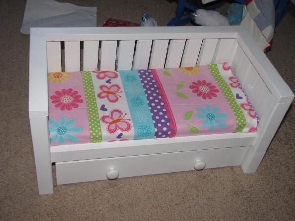 Doll Daybed with trundle | Do It Yourself Home Projects from Ana White