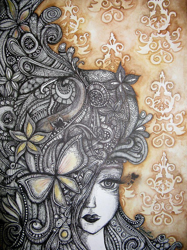 Miss Autumn. by ~Ejvy on deviantART