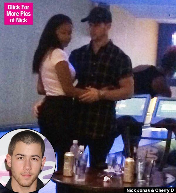 Nick Jonas Dating One Of His Sexy Tour Dancers Cherry D — See Cozy Pics