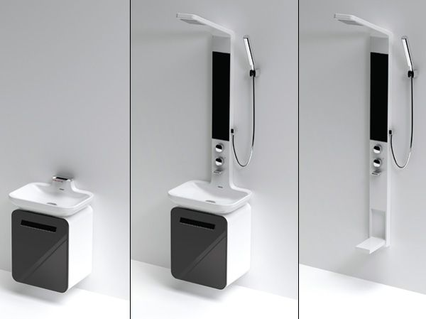 This Is The Way We Shower!   Yanko Design