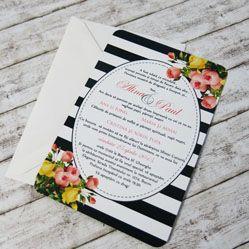 Invitatii de nunta personalizate - 4