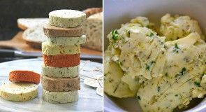 9 receptů na domácí bylinková másla