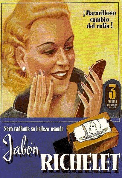 VINTAGE, EL GLAMOUR DE ANTAÑO: PUBLICIDAD vintage