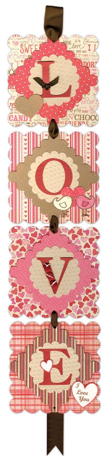 Love Banner, Valentine's & Romantic Crafts