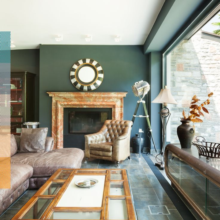 living room with dark green walls. 53 best images about Living Room Design Ideas on Pinterest