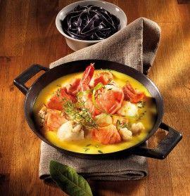 GOSCH Sylt | Edelfischpfanne mit Safran-Sauce