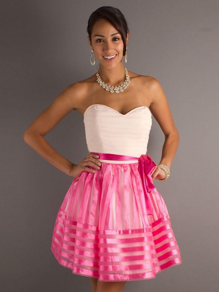 Mejores 777 imágenes de Party Dresses en Pinterest | Vestidos cortos ...