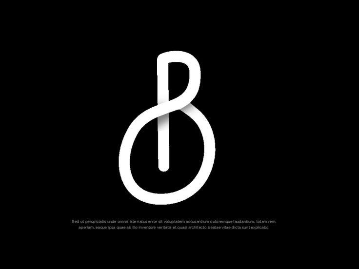 Letter B logo by Eldertype Studio