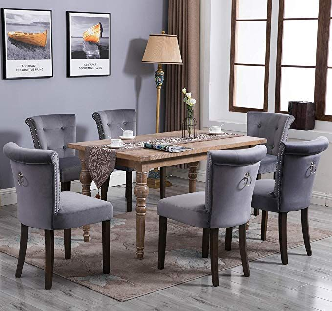 Amazon Com Victorian Dining Chair Button Tufted Armless Chair Upholstered Accent Chair With Upholstered Accent Chairs Upholstered Dining Chairs Dining Chairs
