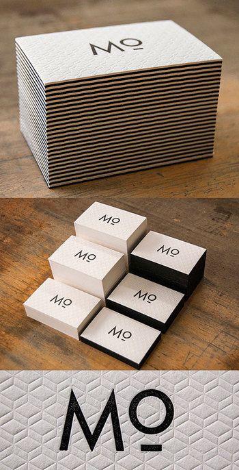こちらもフリースペースに配置されることを想定してデザインされたカード。 伝統的な白と黒だけのデザインもおもしろく魅せる可能性は無限です。