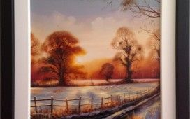 Beautiful winter scene by Ben Jeffery