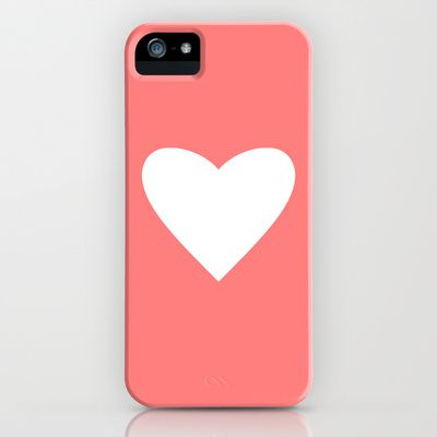 Coral Heart iPhone & iPod Case by M Studio - $35.00