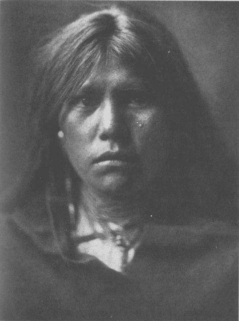 An Apache girl, Tenokai, 1906