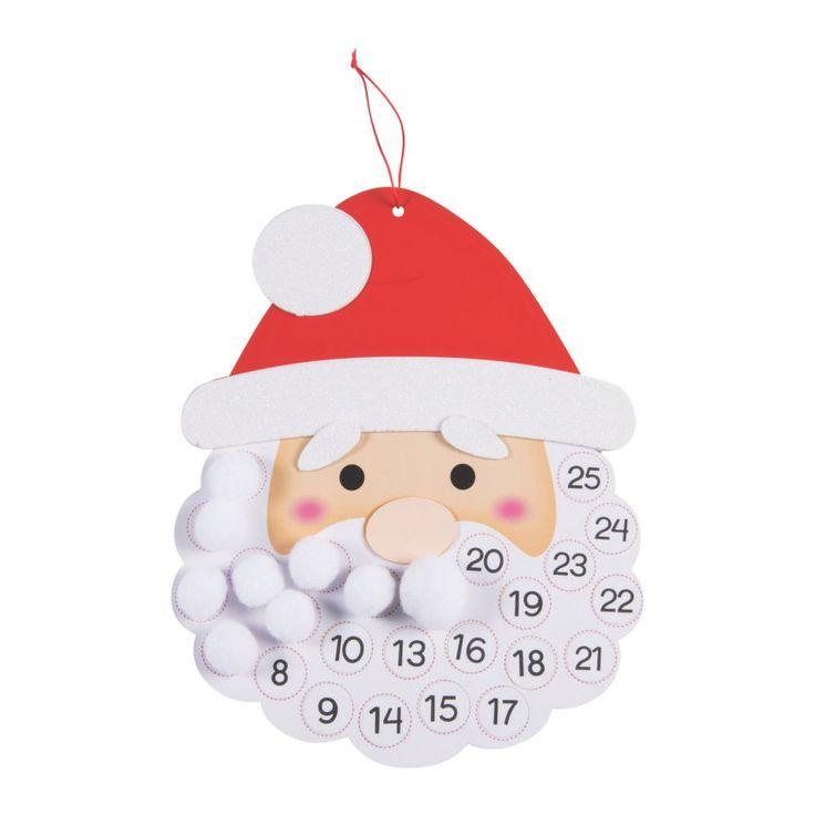 Weihnachtsmann Adventskalender Bastelset   – Χριστουγεννιατικες ιδεες για παιδια