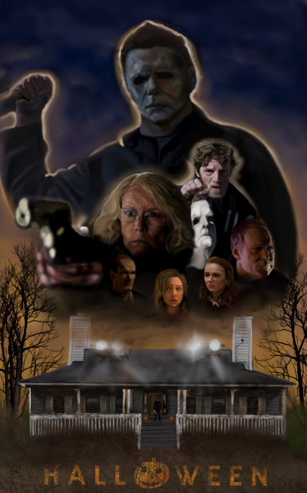 Halloween 2018 Fan Poster.Dawn Of The Boogeyman Part 2 Cast Halloween 2018 Fan