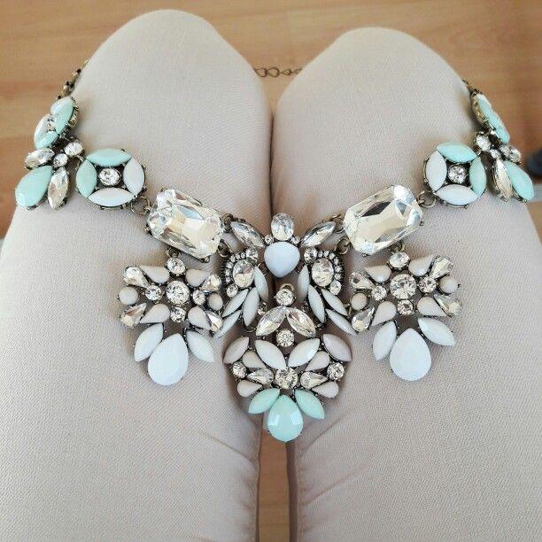#jewelry #necklaces #statementnecklaces #pastel #spring #beautiful #ninojewelry