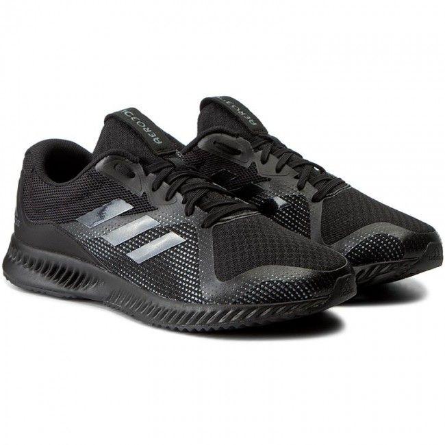 Παπούτσια adidas - Aerobounce Racer M BW1561 Cblack/Cblack