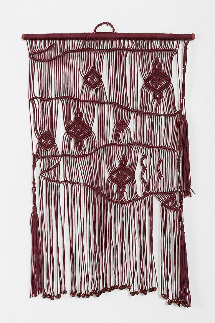 Magical Thinking Woven Wall Hanging Projekty Do